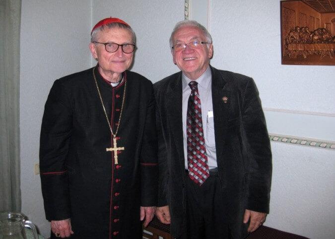 Léandre Lachance Cardinal Lettonie FCDJ
