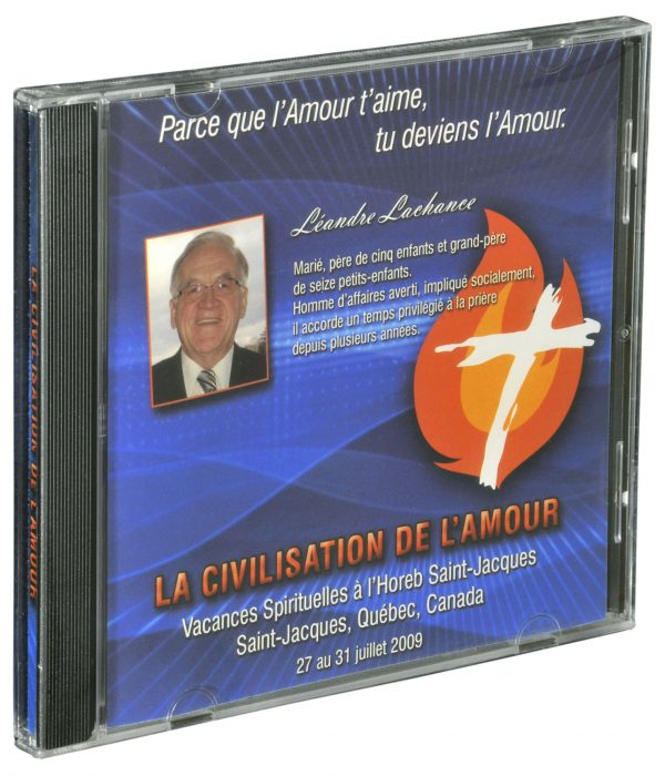 CD MP3* – La Civilisation de l'Amour