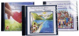 Spécial CD de chants # 1, 2 et 3 « Pour le Bonheur des Miens, Mes choisis – Jésus »