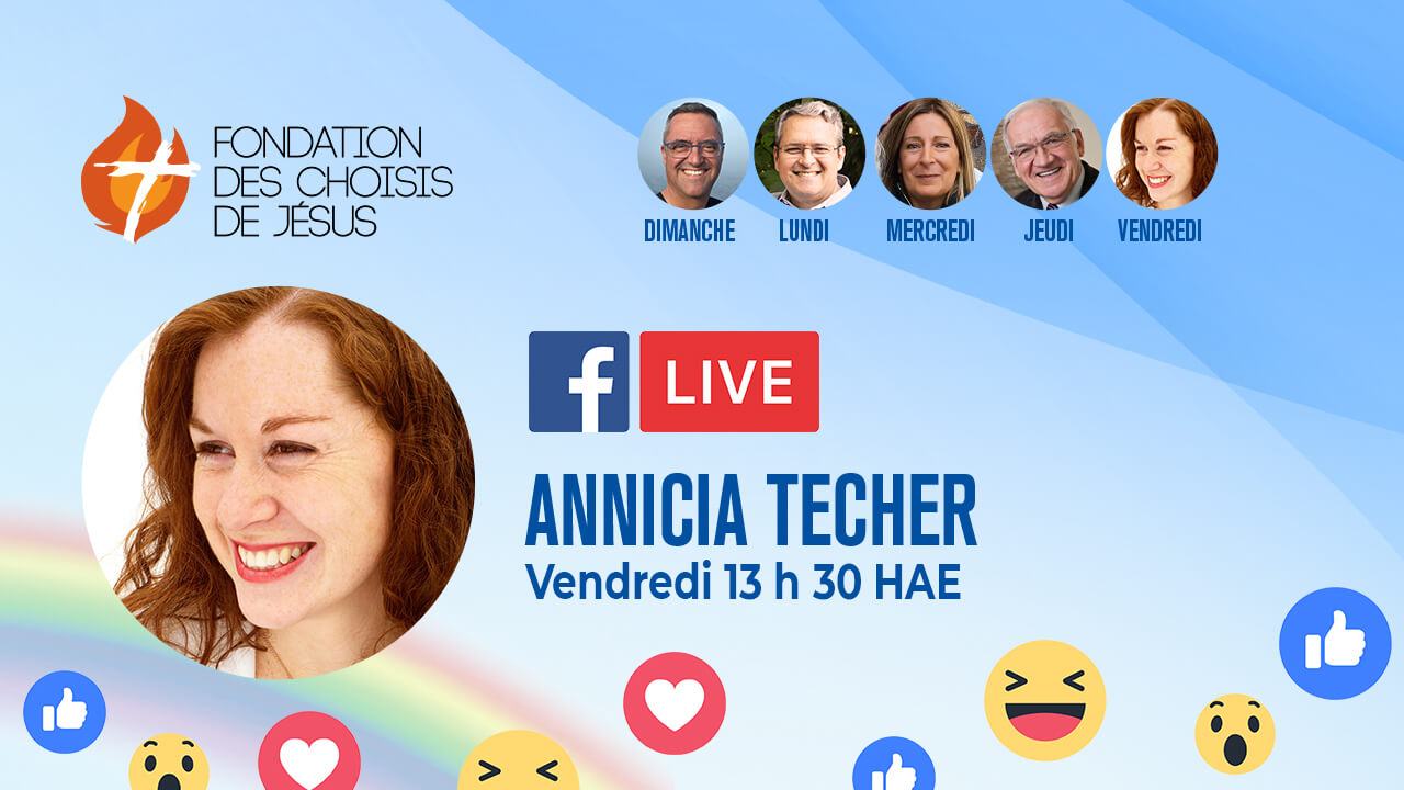 FB-Live Quotidien – 18/09/2020 – La croix, chemin du Salut