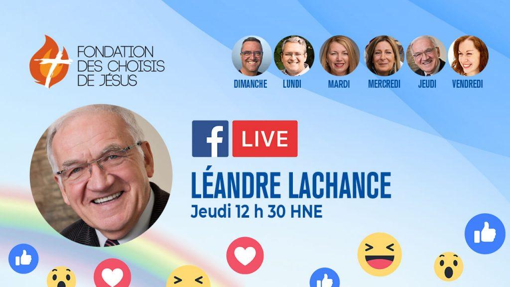 fcdj fb live leandre jeudi 12h30
